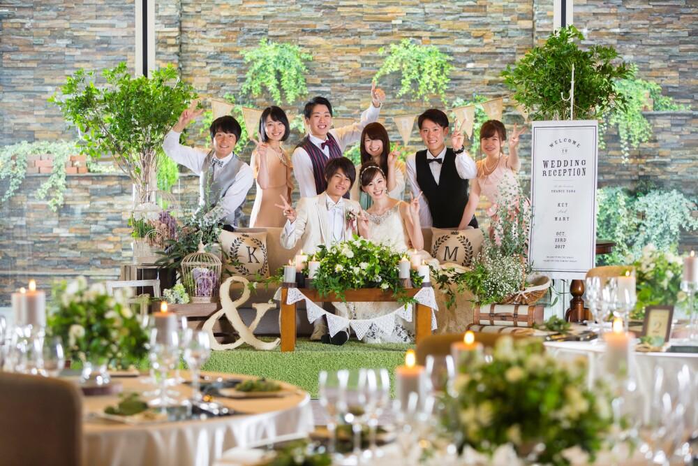 【2部制ウェディングプラン】~家族と友人と1日2回のパーティー開催プラン~
