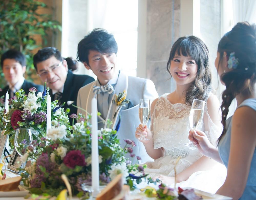 【NEW】【親族婚 + 友人パーティー】二部制で結婚式を 2倍楽しむ!限定プラン