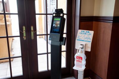 【非接触検温器】安心の感染症防止対策