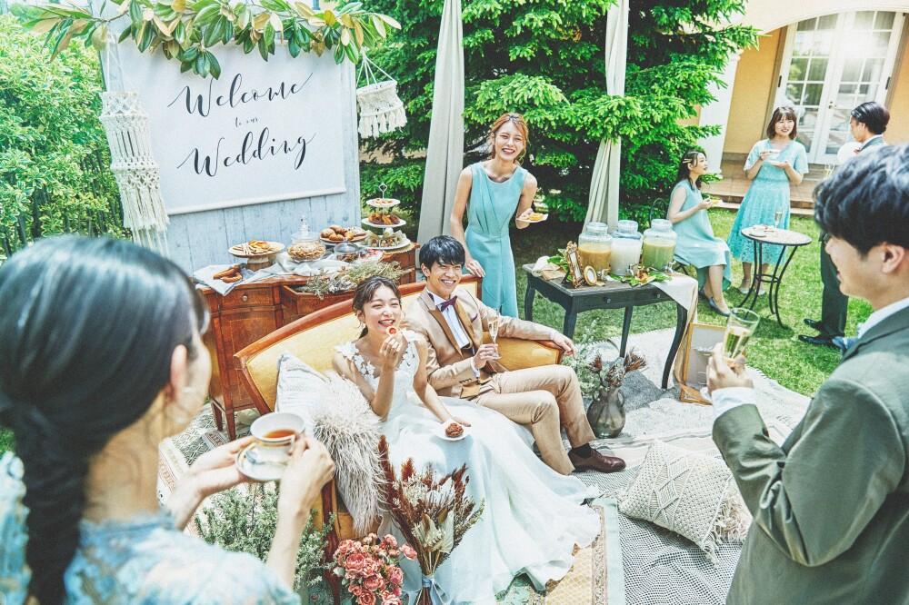 ◆挙式日程の変更無料◆【80名以上】お料理グレードUP♪ゲストも嬉しい大人数プラン