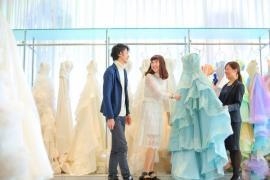 【平日1日1組限定】初めてご来館の花嫁様大満足!たっぷり試着×相談会