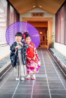 【7月~8月限定】チャペル・神殿ガーデンで撮影OK!七五三衣裳早期受付スタート