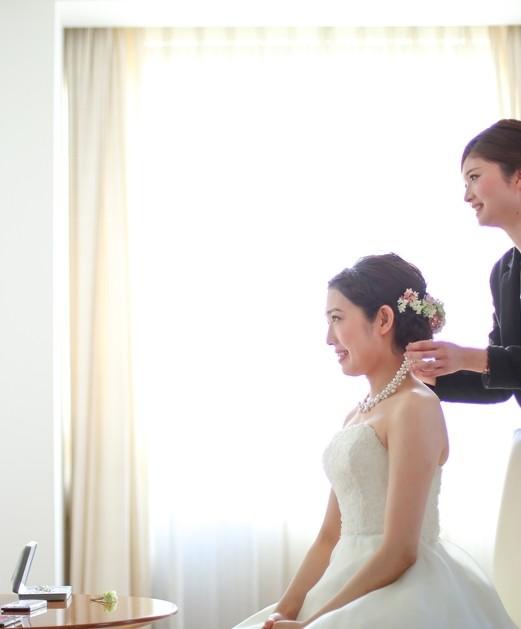 1日1組☆【ウェディングヘアアレンジ×パーソナルカラー診断×ドレス試着体験】